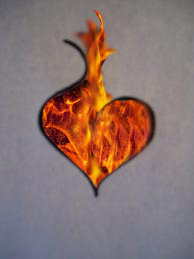 heart fire image copy