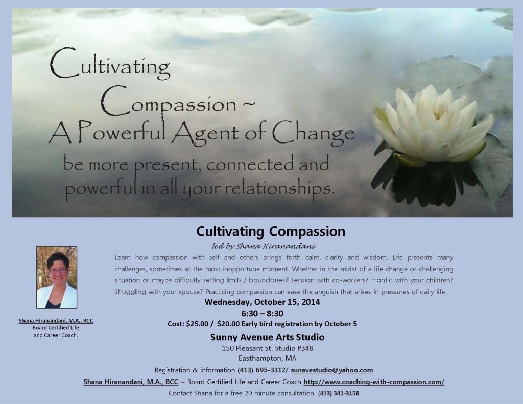 Cultivating Compassion Flyer 2014 revised 9.9.2014