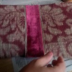 Choosing fabric for the interior of journal
